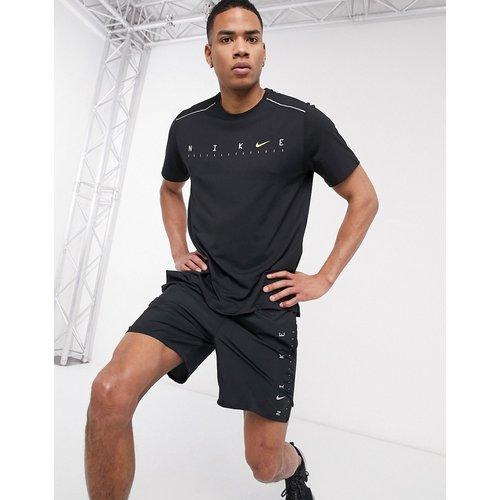 Miler - T-shirt technique avec logo sur le devant - Nike Running - Modalova
