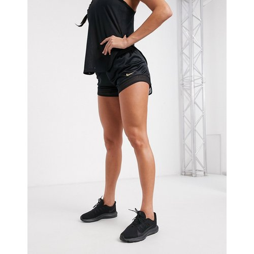 Short à empiècements en tulle - Nike Running - Modalova