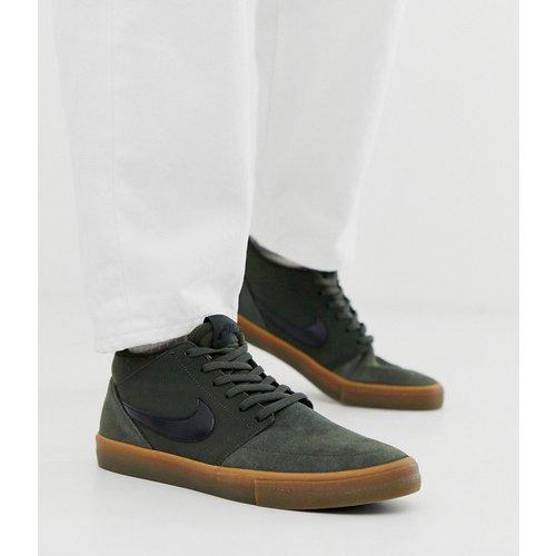Portmore II Solar - Baskets mi-montantes à semelles en caoutchouc - Nike SB - Modalova
