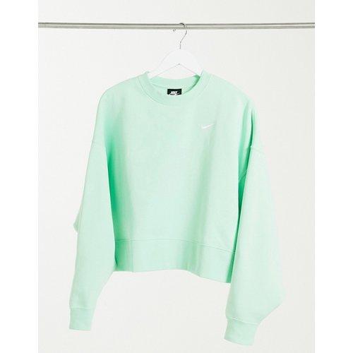 Sweat-shirt oversize coupe carrée avec mini virgule - Nike - Modalova