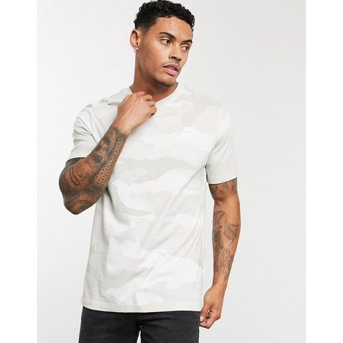 T-shirt à imprimé camouflage - Nike - Modalova