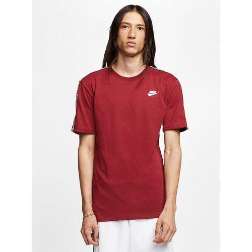 T-shirt avec bandes à logo - Bordeaux - Nike - Modalova
