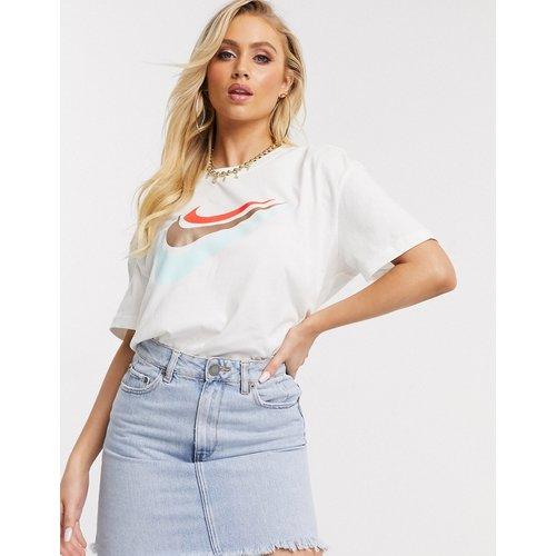 T-shirt boyfriend oversize à trois virgules - Nike - Modalova