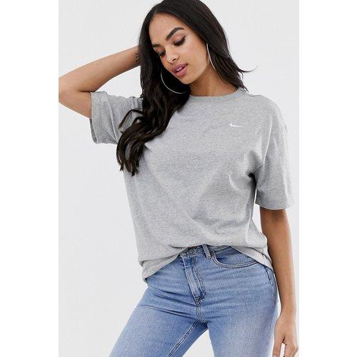T-shirt oversize avec petit logo virgule - Nike - Modalova
