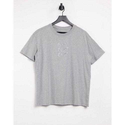 T-shirt triple logo virgule à strass - Nike - Modalova