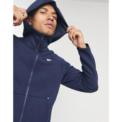 Tech Fleece - Hoodie à fermeture éclair - Bleu marine - Nike - Modalova