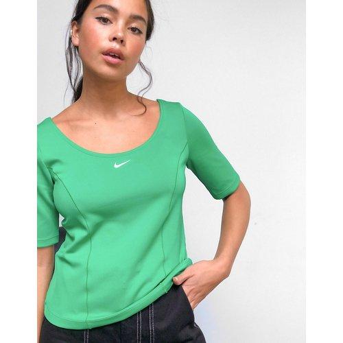 Tech pack - Top manches courtes de première qualité à empiècements - Nike - Modalova