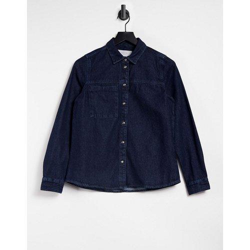 Chemise en jean oversize - Bleu foncé - Noisy May - Modalova