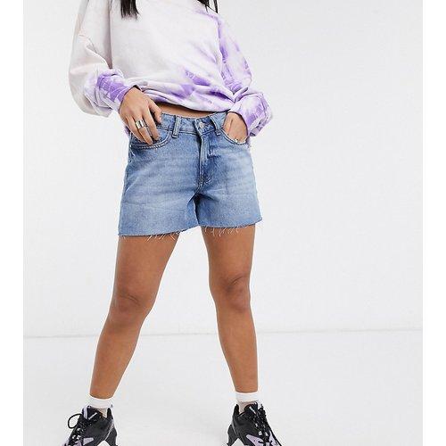 Short en jean à bords bruts - Noisy May Petite - Modalova