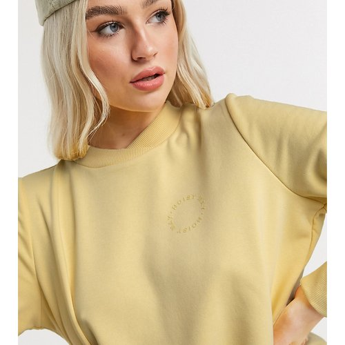 Sweat-shirt à logo - pastel - Noisy May Petite - Modalova