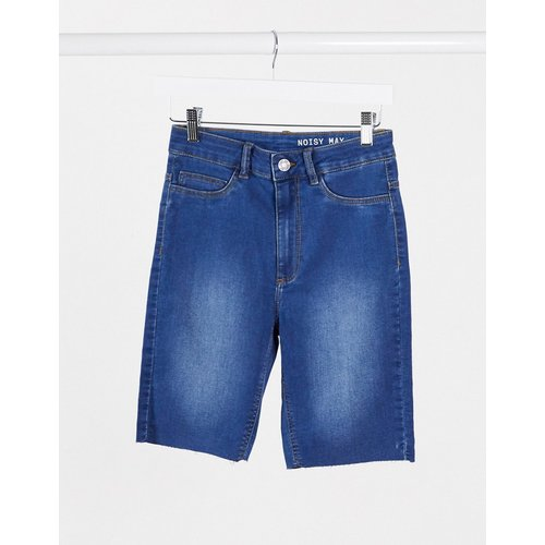 Short en jean long à bords bruts - moyen - Noisy May - Modalova