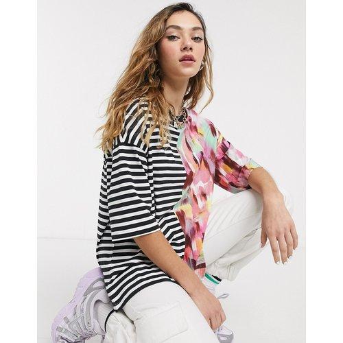 T-shirt oversize à imprimé mélangé - Noisy May - Modalova