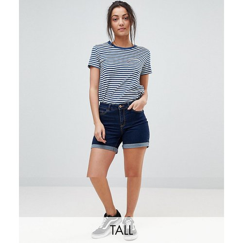 Short en jean à revers - Noisy May Tall - Modalova