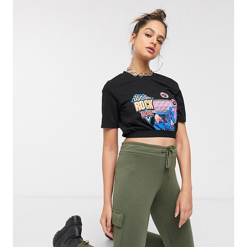 T-shirt court à imprimé - Noisy May Tall - Modalova