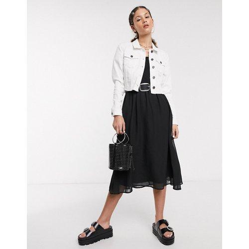 Veste en jean courte à ourlet brut - Noisy May - Modalova