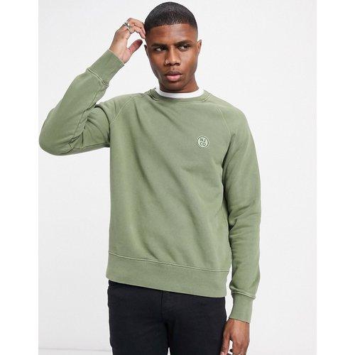 Co - Melvin - Sweat-shirt ras de cou avec logo cercle - Nudie Jeans - Modalova