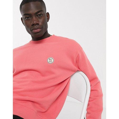 Lukas - Sweat-shirt avec écusson à logo - Nudie Jeans - Modalova
