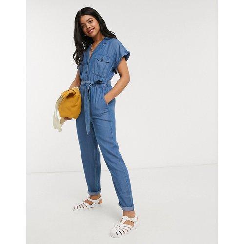 Combinaison fonctionnelle en jean - Oasis - Modalova