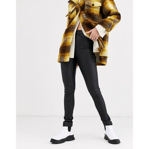 Only - Jean skinny enduit-Noir - Only - Modalova