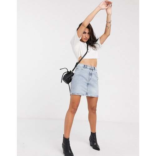 Mini-jupe en jean - Délavage acide - Only - Modalova