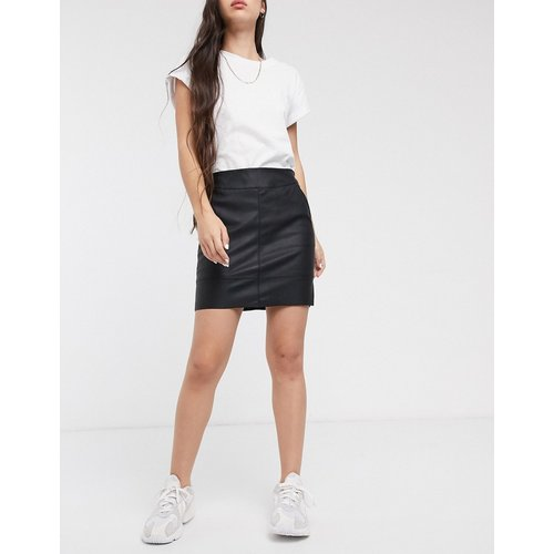 Mini-jupe en similicuir PU - Only - Modalova