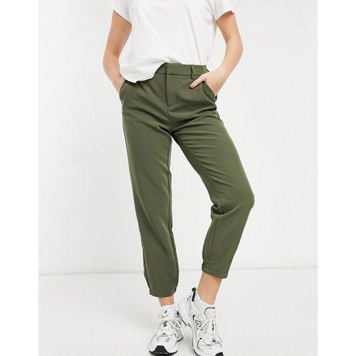 Only - Pantalon droit - Kaki-Vert - Only - Modalova