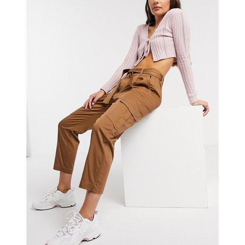 Petal - Pantalon cargo avec liens à la taille - Only - Modalova