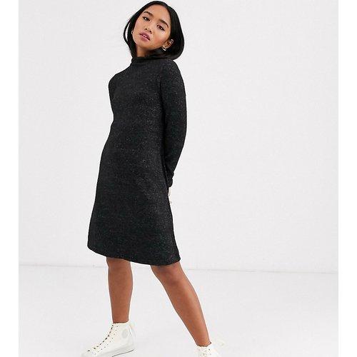 Robe courte en maille à manches longues - Only Petite - Modalova