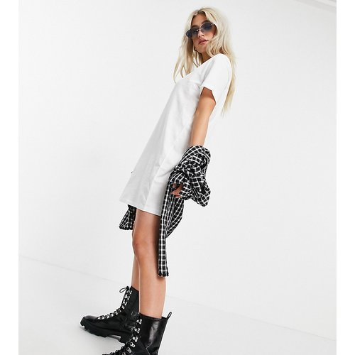Only Petite - Robe t-shirt - Blanc - Only Petite - Modalova