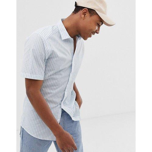 Chemise rayée à manches courtes - Only & Sons - Modalova