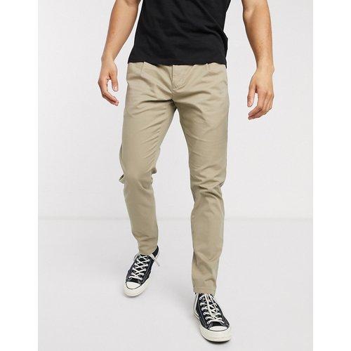 Pantalon chino coupe slim - Beige - Only & Sons - Modalova
