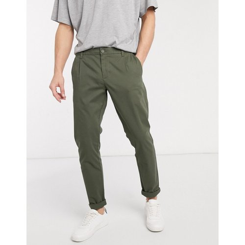 Pantalon chino coupe slim - Kaki - Only & Sons - Modalova