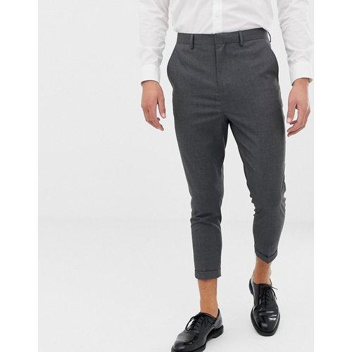 Pantalon de costume court ajusté - Only & Sons - Modalova