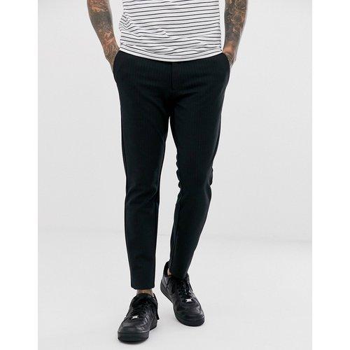 Pantalon slim habillé à fines rayures - Only & Sons - Modalova