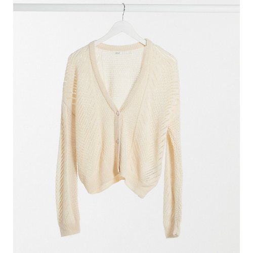Only Tall - Cardigan - Beige-Crème - Only Tall - Modalova