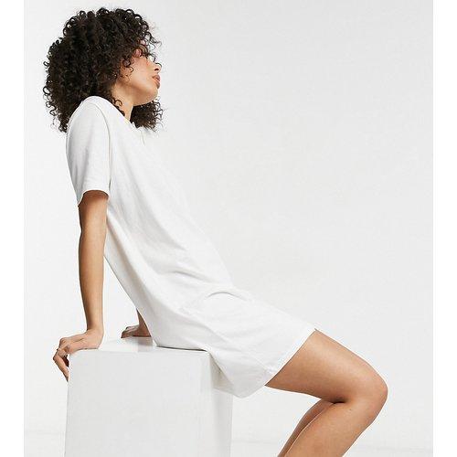 Only Tall - Robe t-shirt - Blanc - Only Tall - Modalova