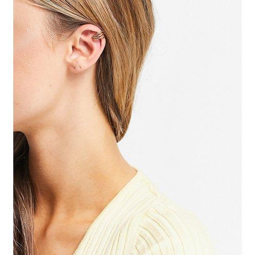 Bijou d'oreille en plaqué or à trois anneaux - Orelia - Modalova