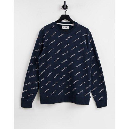 Sweat-shirt ras de cou à inscription logo - Original Penguin - Modalova