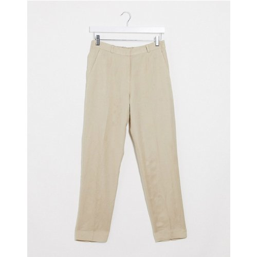 Pantalon slim en lin - & Other Stories - Modalova