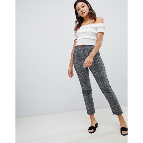 Pantalon ajusté à carreaux - Parisian - Modalova