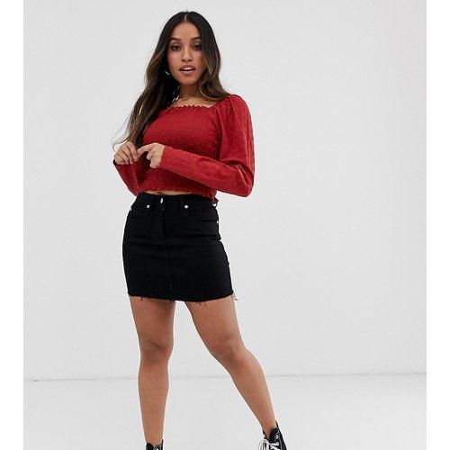 Mini-jupe en jean - Parisian Petite - Modalova