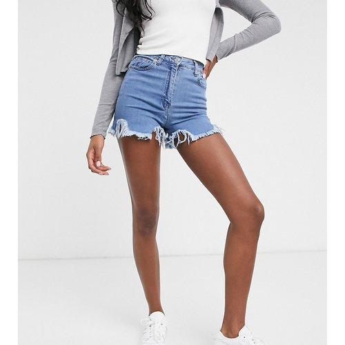 Short en jean avec ourlet brut - Parisian Tall - Modalova