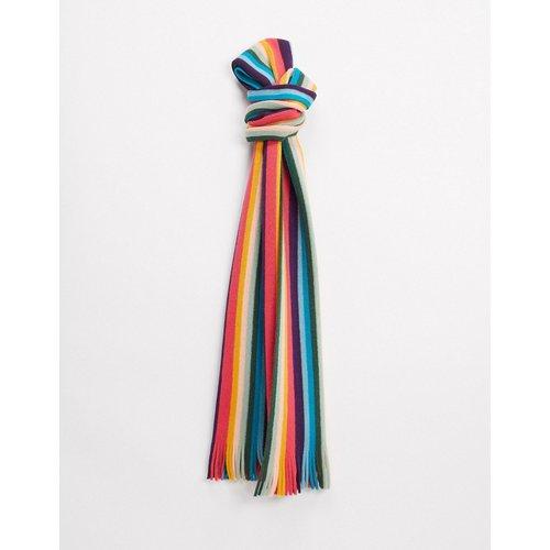 Artist - Écharpe en laine à rayures - Multicolore - Paul Smith - Modalova