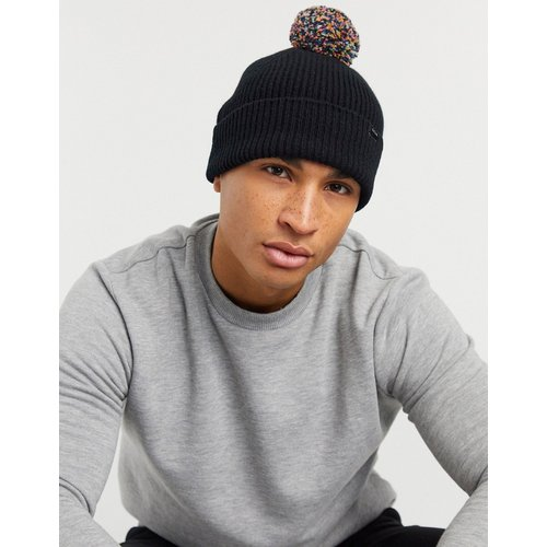 Bonnet en laine à pompon avec logo - Paul Smith - Modalova