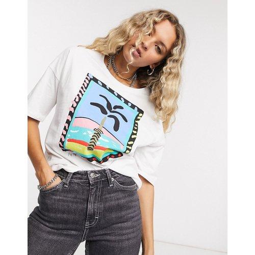 Pepe Jeans - Lali - T-shirt - Blanc - Pepe Jeans - Modalova
