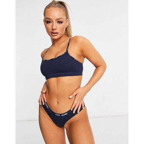 Tonia - Culotte - Bleu - Pepe Jeans - Modalova
