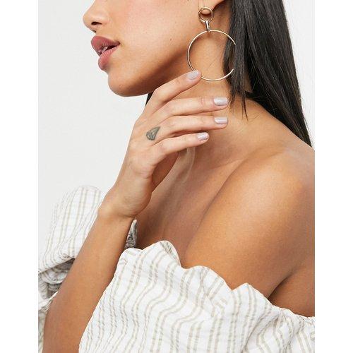 Boucles d'oreilles créoles pendantes - Pieces - Modalova