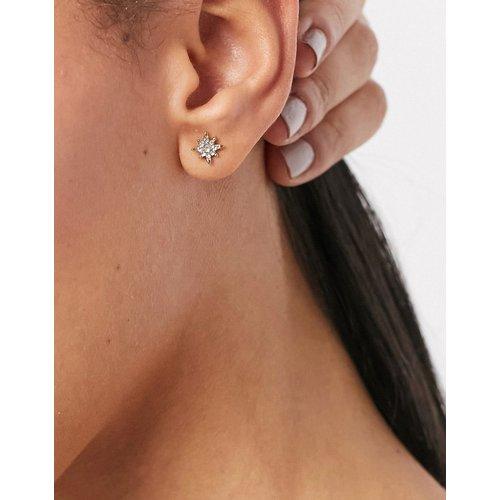 Boucles d'oreilles étoiles ornées de strass - Pieces - Modalova
