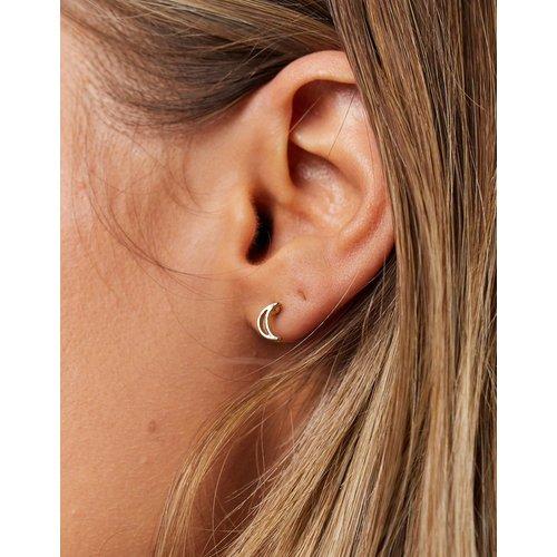 Boucles d'oreilles lune - Pieces - Modalova