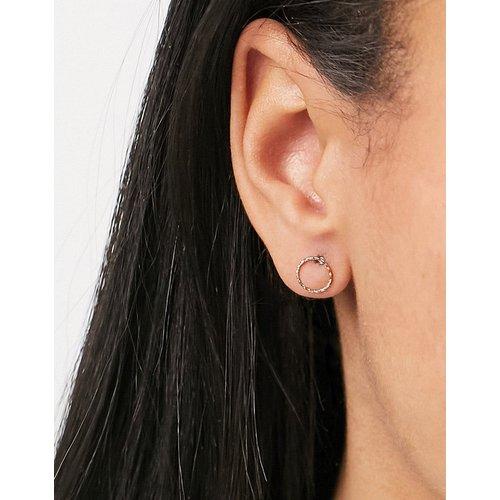 Boucles d'oreilles motif cercle - Pieces - Modalova